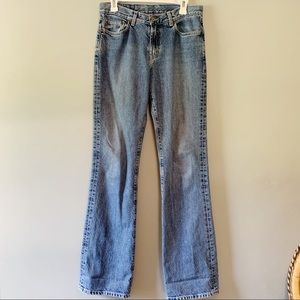 Vintage Lucky Brand Extra Long Peanut Pant Jeans